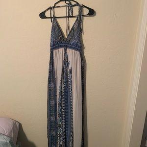 Tropical Maxi Dress